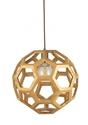 Picture of Banega 40CM Timber Pendant (BANEGA-40) Fiorentino Lighting