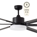 "Picture of Albatross 72"" or 84"" DC Industrial Style Ceiling Fan With Tri-Colour 24W LED And Remote Martec"