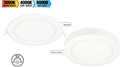 Picture of The Duet Combination Recessed or Surface Mount CCT Downlights (20827, 20828, 20829) Brilliant Lighting