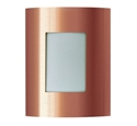 Picture of Brunswick 240V Solid Copper Exterior Wall Light (S113C) Seaside