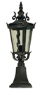 Picture of Albany Exterior Small Pillar Mount Light (1000029) Lighting Inspirations