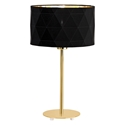 Picture of Dolorita Black/Gold Table Lamp (39227N) Eglo Lighting
