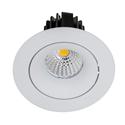 Picture of White Tilt 9w TRI Colour Recessed LED Downlight (HCP-8730902 / HCP-8730904) Havit Commercial