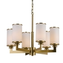 Picture of Ahern 6 Light Pendent (Ahern PE6-BS/OP) Telbix