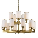 Picture of Ahern 15 Light Pendent (Ahern PE15-BS/OP) Telbix